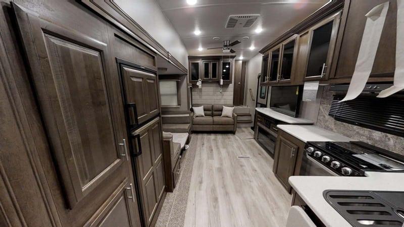 2020 Flagstaff SuperLite 529BH interior