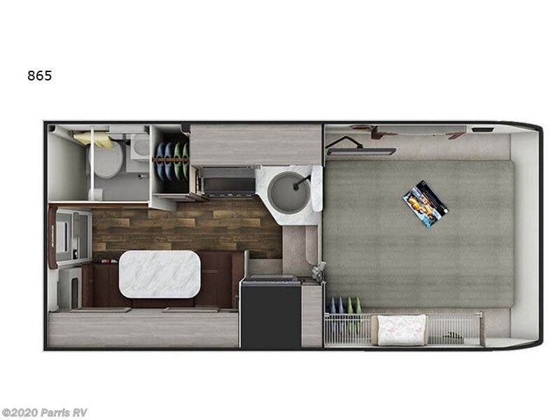 2021 Lance 865 floor plan