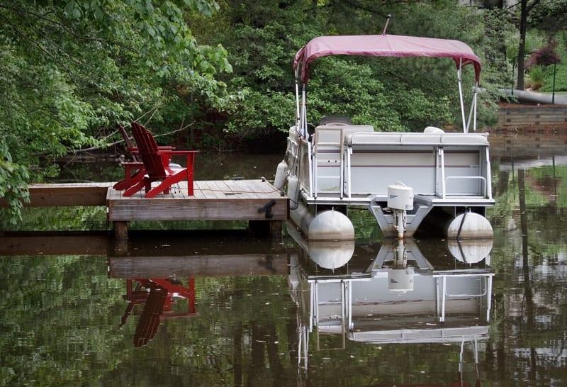 How Low Should a Motor Set on a Pontoon Boat